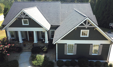 Home Exterior Transformation in Tyrone, GA